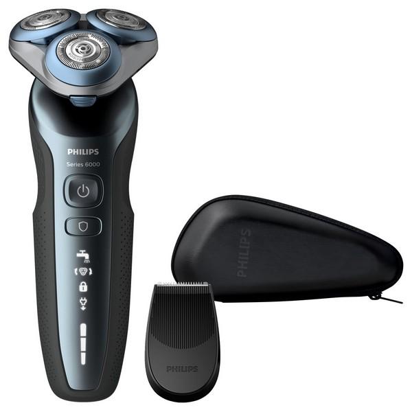 Image of   Genopladelig elektrisk barbermaskine Philips S6620/11 Sort