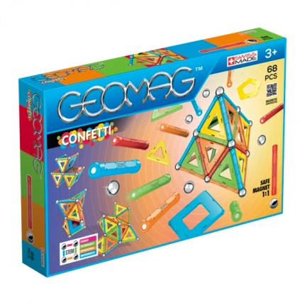 Image of   Geomag Confetti 68