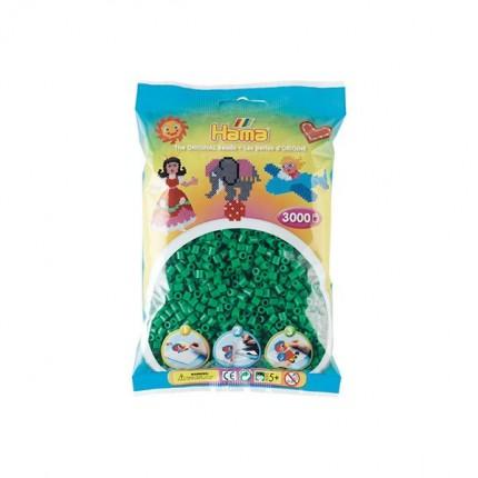 Image of   Hama midi perler 3000 stk grøn
