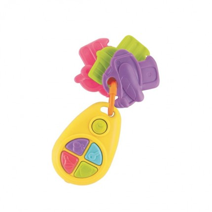 Image of   Happy Baby Musical Teething Keys B/O
