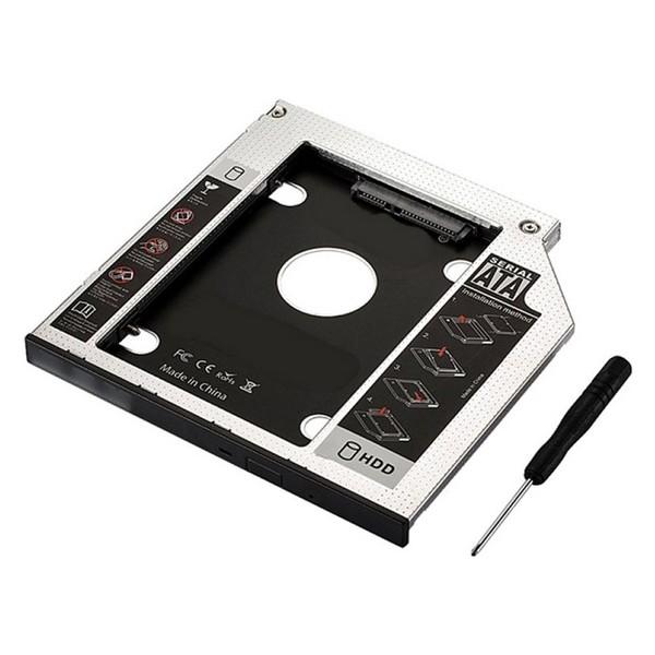 Image of   HDD/SSD SATA Optical Unit Adaptor (9,5 mm) Ewent EW7003