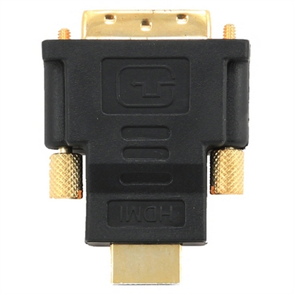 Image of   HDMI til DVI-adapter GEMBIRD A-HDMI-DVI-1 Sort