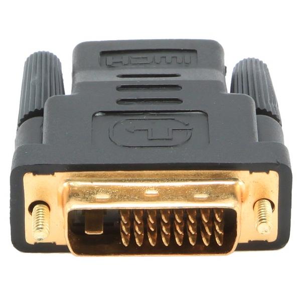 Image of   HDMI til DVI-adapter GEMBIRD A-HDMI-DVI-2 Sort