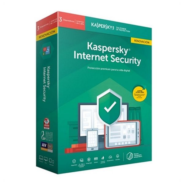 Image of   Home antivirus Kaspersky Internet Security MD 2019 RN Windows macOS