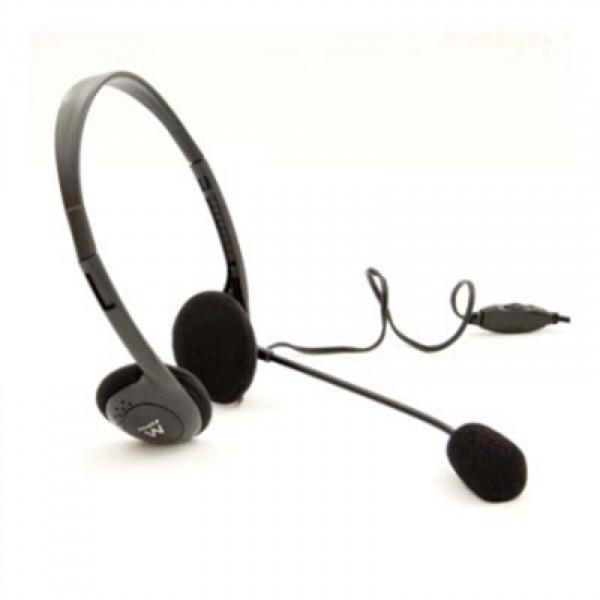 Image of   Hovedtelefoner med mikrofon Ewent EW3563