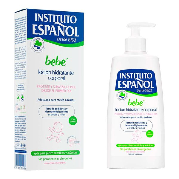 Image of   Hydrerende Baby Lotion Instituto Español (300 ml)
