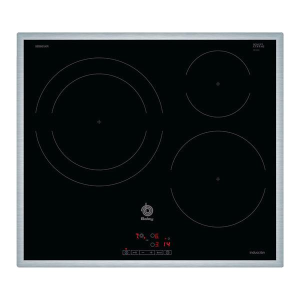 Image of   Induktionsplade Balay 3EB865XR 60 cm Sort (3 kogeplade)