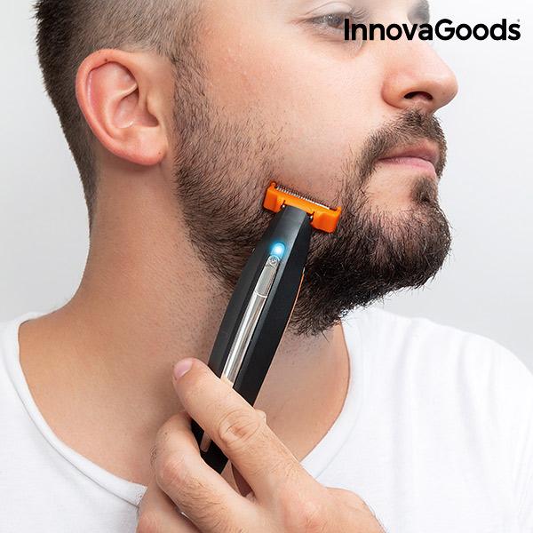 Image of   InnovaGoods 3-i-1 genopladelig elektrisk præcisionsshaver