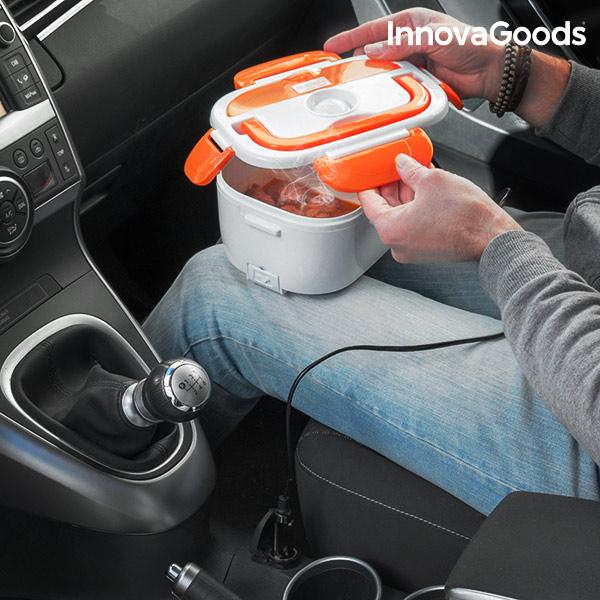 Image of   InnovaGoods Elektrisk Madkasse til Biler 40W 12 V Hvid Orange