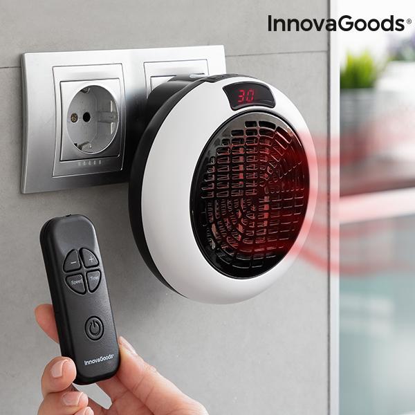 Image of   InnovaGoods Fjernbetjent Varmeapparat med Stik 600W