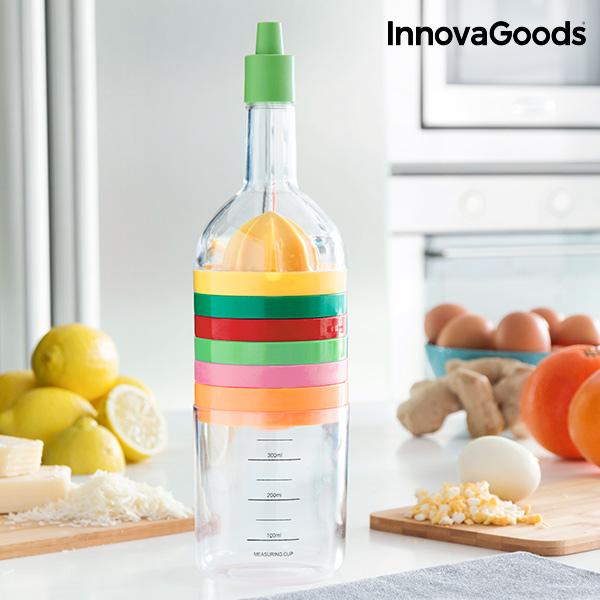 Image of   InnovaGoods Flaske Med Køkkenredskaber 8 i 1 (8 Dele)