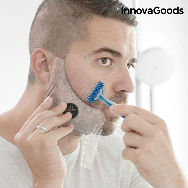 Image of   InnovaGoods Hipster Barber Skæg Skabelon til Barbering