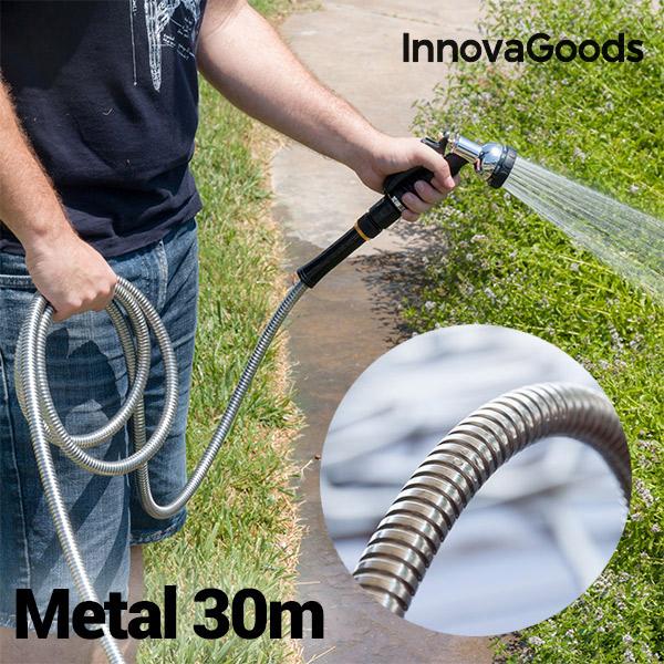 Image of   InnovaGoods Holdbar Metalslange (30 m)