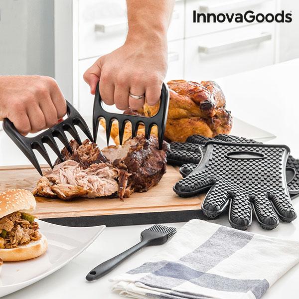Image of   InnovaGoods Kødtang med Handsker og Børste