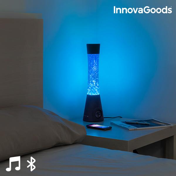 Image of   InnovaGoods Lavalampe med Bluetooth Højtaler og Mikrofon 30W
