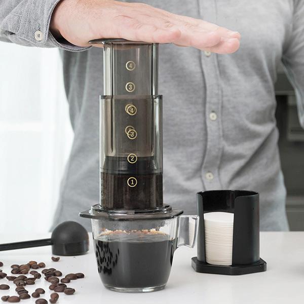 Image of   InnovaGoods Manuel Kaffemaskine Med Tryk
