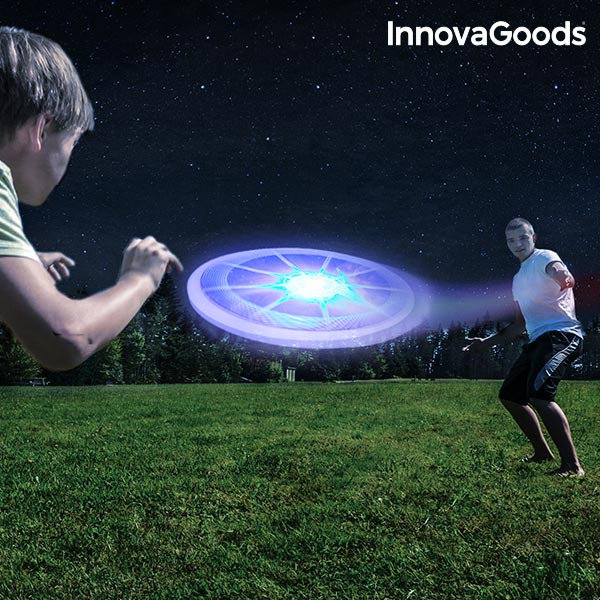Image of   InnovaGoods Multifarvet LED Frisbee