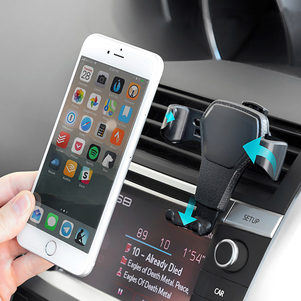 Image of   InnovaGoods tyngdekraft telefonholder