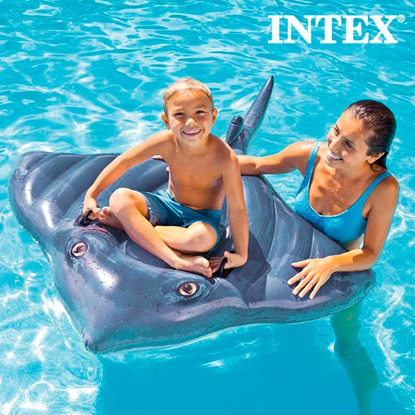 Image of   Intex Oppustelig Manta Ray