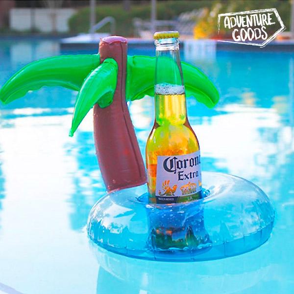 Image of   Island Adventure Goods Oppustelig Drikkevarerholder