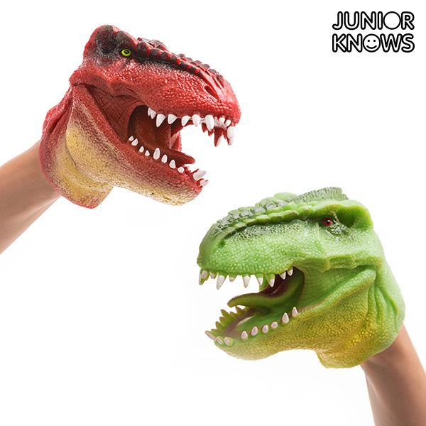 Image of   Junior Knows Dinosaur Hånddukke