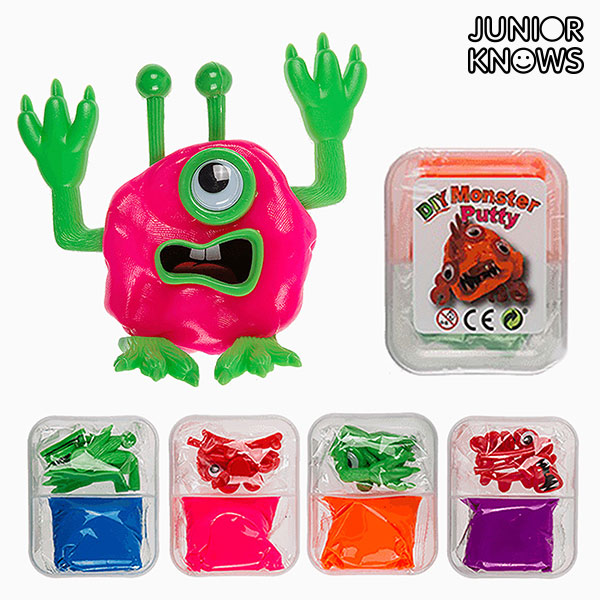 Image of   Junior Knows DIY Monster Ler
