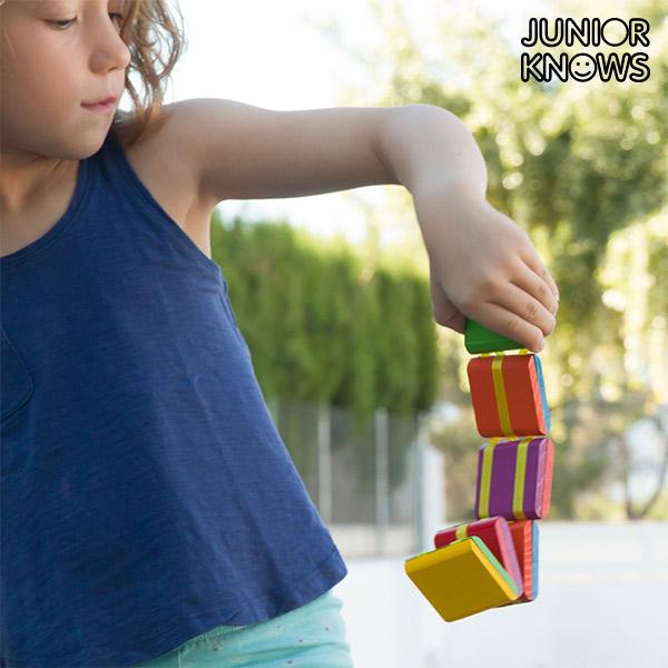 Image of   Junior Knows Funny Ladder Færdighedsspil for Børn