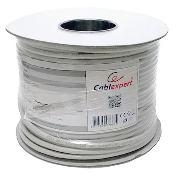 Image of   Kategori 5 Hard UTP RJ45 kabel Cablexpert UPC-5004E-SOL/100CC 100 m Grå