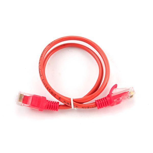 Image of   Kategori 5 UTP kabel iggual PSIPP12-0,5M/R 0,5 m Rød