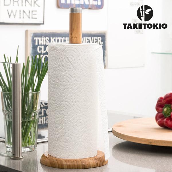 Image of   Køkkenrulleholder i Bambus TakeTokio