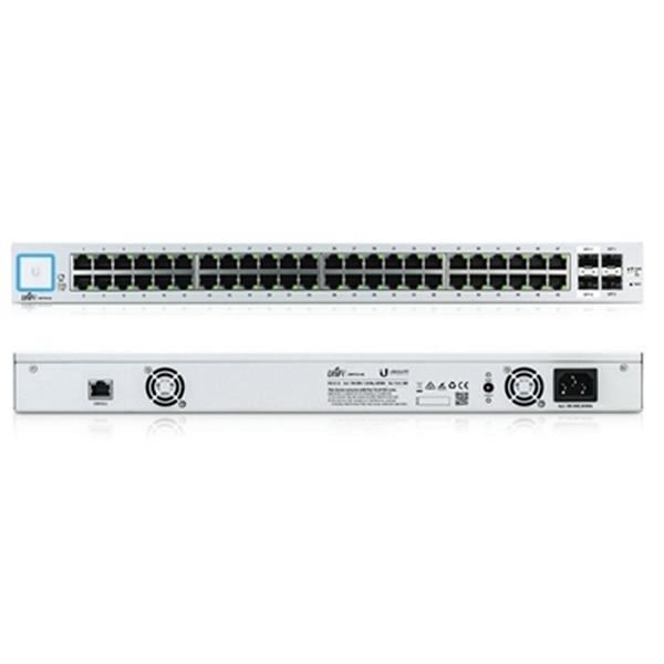 Image of   Kontakt til netværket med kontaktskab UBIQUITI US-48 48xGB 2xSFP 2xSFP+