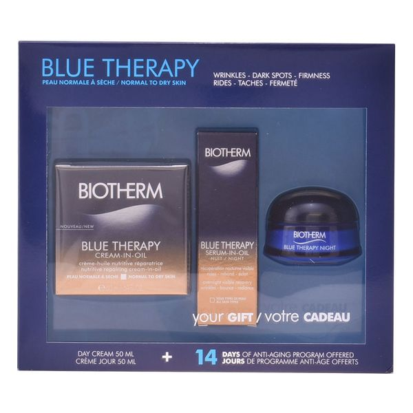 Image of   Kosmetik sæt til kvinder Blue Therapy Cream In Oil Biotherm (3 pcs)