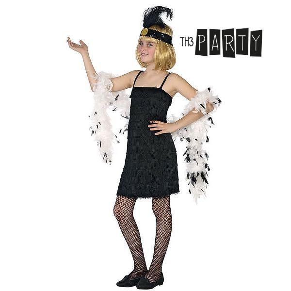 Image of   Kostume til børn Th3 Party 9070 Componentes:VESTIDO Charlestón