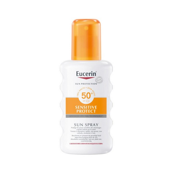 Image of   Krop solcreme spray Eucerin Spf 50+ (200 ml)