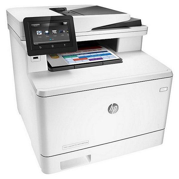 Image of   Laser Printer HP Color LaserJet Pro MFP M377dw 40 ipm WIFI LAN Hvid