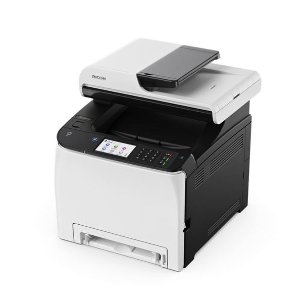 Image of   Laser Printer Ricoh SP260SFNW 20 ipm 2400 dpi WIFI Fax Hvid Sort