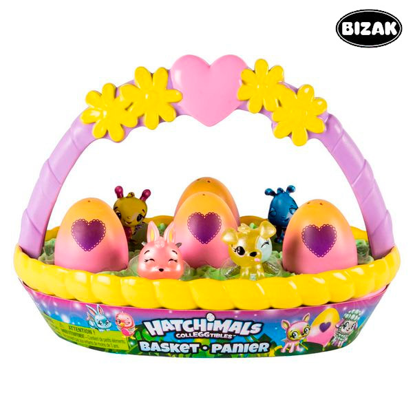 Image of   Legetøj Hatchimals Bizak 61929127 (6 pcs)