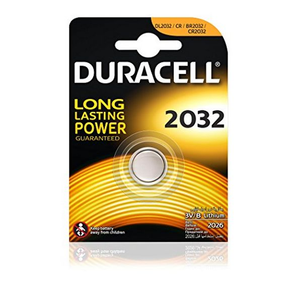 Image of   Lithium Button Cell Battery DURACELL DRB2032 CR2032 3V