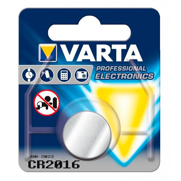 Image of   Litium knap-cellebatteri Varta 220842 3 V Sølv
