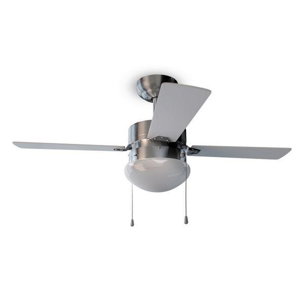 Image of   Loftsventilator med lys Cecotec Forcesilence Aero 450 50W