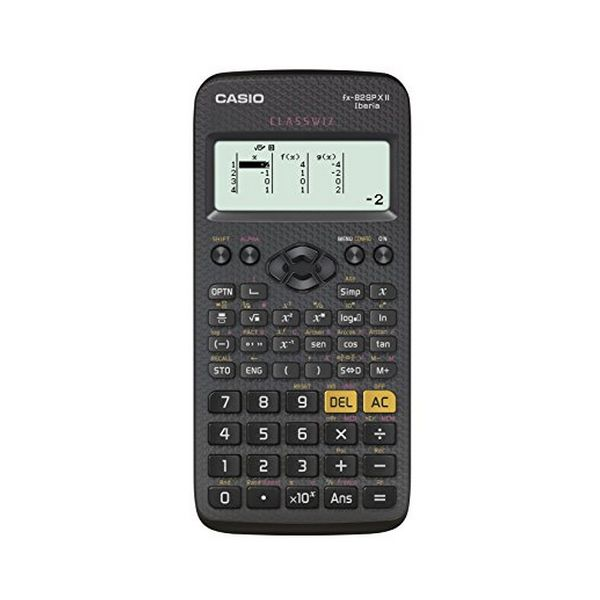 Image of   Lommeregner Casio FX-82 SPX Sort