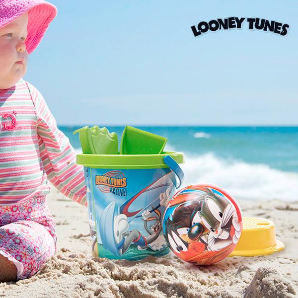Image of   Looney Tunes Strandspil med Bold (5 dele)