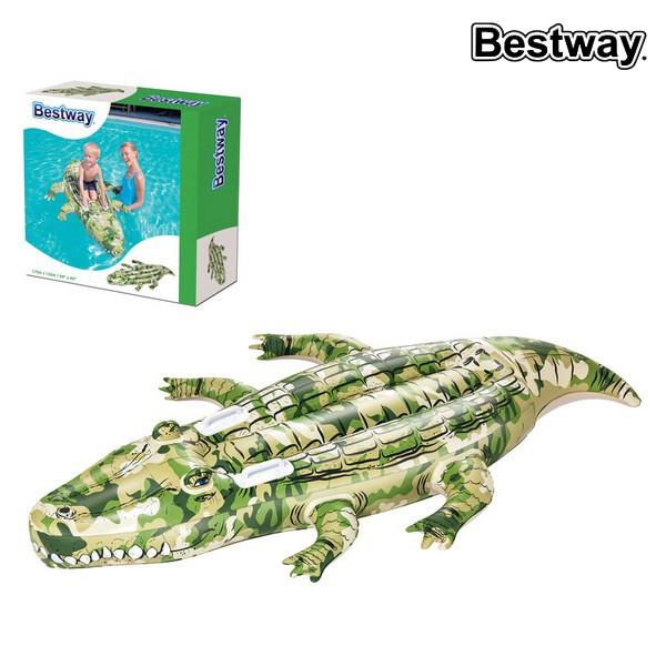 Image of   Luftmadras Bestway 41090 (175 x 102 cm) Krokodrille