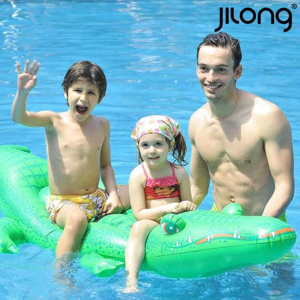 Image of   Luftmadras Jilong 611459 (200 x 110 cm) Krokodrille