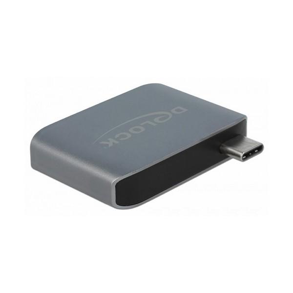 Image of   Lyd-jack omformer DELOCK 63965 USB-C USB 3.0 Antracit