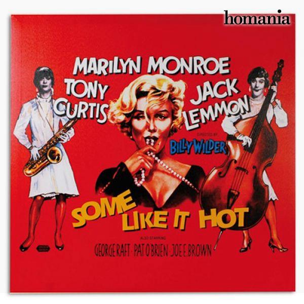 Image of   Marilyn Monroe Some Like It Hot Billede på Linned Lærred 60 x 60