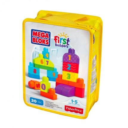Image of   Mega Bloks Byggeklodser med tal