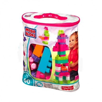 Image of   Mega Bloks Klodser Pink 60 stk