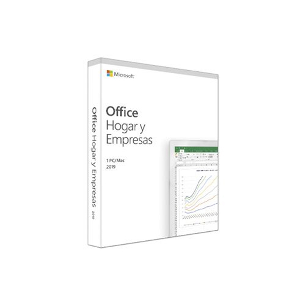 Image of   Microsoft Office 2019 Hogar og Empresa Microsoft T5D-03233 (1 licens)