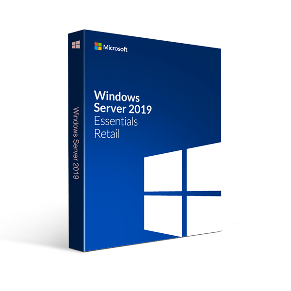 Image of   Microsoft Windows Server 2019 Essentials Microsoft G3S-01310 OEM (Spansk)